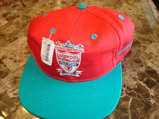 LIVERPOOL SOCCER 1992 ADIDAS WORLD CUP DEADSTOCK 90S HAT CAP VINTAGE