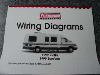 winnebago itasca wiring diagram schematic 1998 winnebago rialta