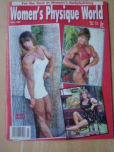 WOMENS PHYSIQUE WORLD female bodybuilding muscle magazine/DENIS​E