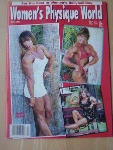 WOMENS PHYSIQUE WORLD female bodybuilding muscle magazine/DENISE
