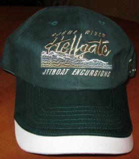 HELLGATE JETBOAT EXCURSIONS USA ADJUSTABLE MENS BASEBALL CAP HAT NEW