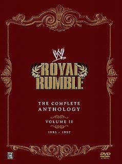 WWE   Royal Rumble Anthology Vol. 2 DVD, 2007, 5 Disc Set