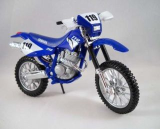 Scale 1/18   Yamaha TTR 250 Motorcycle Diecast Cast TT R Dirt Bike