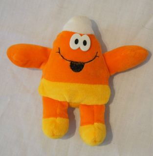 Mini Small Super Soft Stuffed Plush Bean Bag Orang Yellow Candy