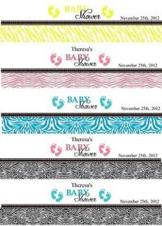 baby shower water bottle labels in Baby Shower