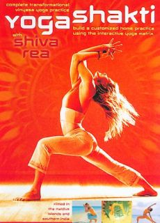 Shiva Rea   Yoga Shakti DVD, 2004, 2 Disc Set