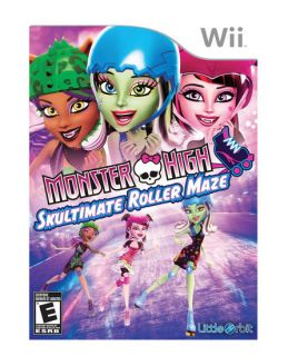 MONSTER HIGH SKULTIMATE ROLLER MAZE Wii