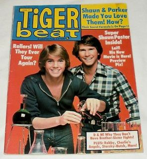 TIGER BEAT TEEN MAGAZINE JUNE 1977 BAY CITY ROLLERS CHARLIES ANGELS