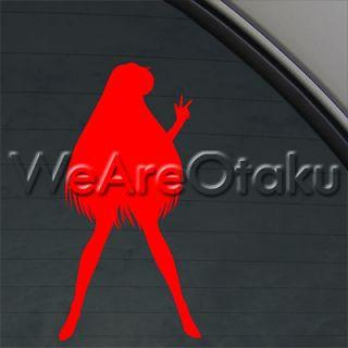 Sailor Moon Decal Sailor Mars Truck Window Sticker