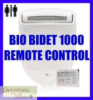 BIO BIDET BB 1000 ROUND Electronic Toilet Seat Remote Control Jet Wash