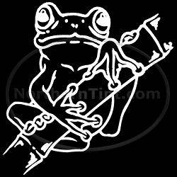 Tree Frog vinyl wall art car truck decal sticker 122