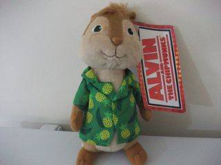 ALVIN AND THE CHIPMUNKS THEODORE Plush / Soft Toy 22cm BRAND NEW