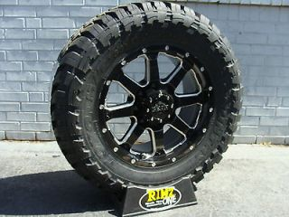 18 Gear Alloy 726MB Wheels 35x12.50R18 35 Toyo Open Country MT
