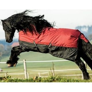 Horseware Ireland Amigo Mio Turnout Sheet 66 to 84  Burgundy Black