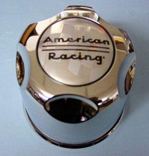 AMERICAN RACING WHEELS 6 LUG CENTER CAPS 4.25 INCH BORE ALUMINUM
