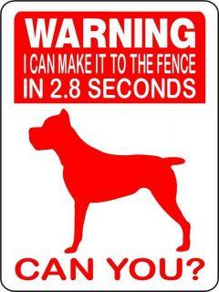 CANE CORSO Guard Dog Aluminum Sign Vinyl Decal 2652CC