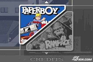 Paperboy Rampage Nintendo Game Boy Advance, 2005