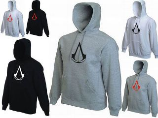 KIDS ASSASSINS CREED GAMING HOODIE GAMER XBOX PS3 HOODED/HOODY   AGES