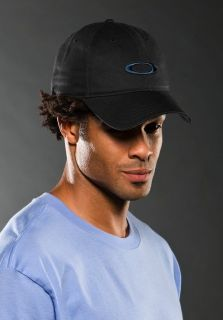 OAKLEY GOLF PLAYERS EMBROIDERED ADJUSTABLE CAP HAT NAVY / MARINE BLUE