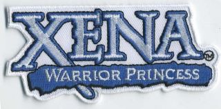 XENA Warrior Princess Logo 3.75 Costume Patch  FREE S&H (XEPA 002)