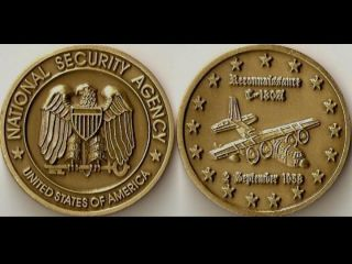 NSA National Security Agency Air Force Challenge Coin S