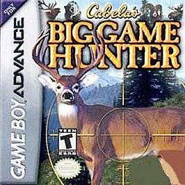 Big Game Hunter 2005 Adventures Nintendo Game Boy Advance, 2004
