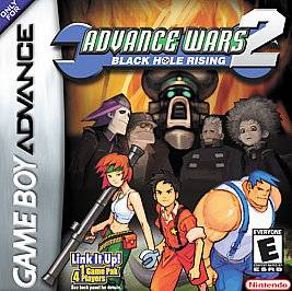 Advance Wars 2 Black Hole Rising Nintendo Game Boy Advance, 2003