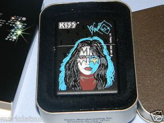 KISS ACE FREHLEY Authentic ZIPPO LIGHTER New In Box