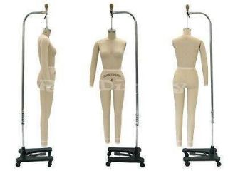 Professional Dress Form Mannequin Full Size 8 + Arm