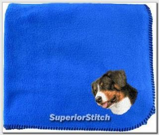 GREATER SWISS MOUNTAIN DOG blanket ANY COLOR
