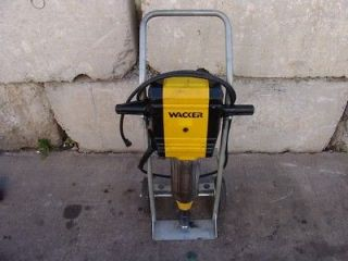 WACKER EH 27/115 ELECTRIC DEMOLITION JACK HAMMER CONCRETE BREAKER