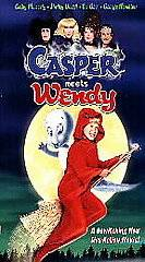 CASPER MEETS WENDY George Hamilton Childrens Video VHS