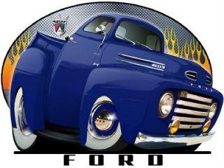 1948 1949 1950 F 1 Ford Pickup Truck Licenced Tshirt F1