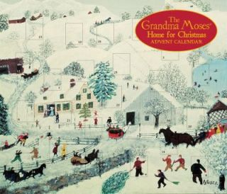 Grandma Moses Home for Christmas Advent Calendar by Universe