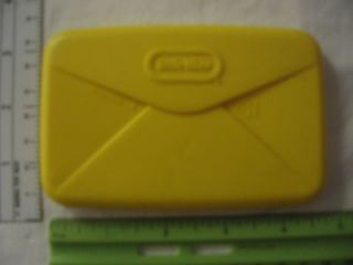 Little Tikes Replacement Plastic Envelope/Mail   Yellow
