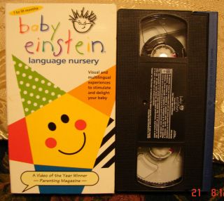 Baby Einstein Vhs in VHS Tapes