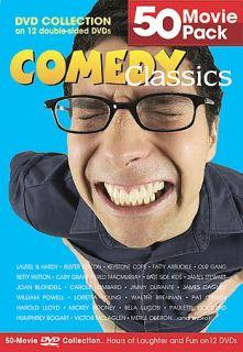 Comedy Classics 50 Movie Pack DVD, 2004, 12 Disc Set