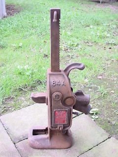 Vintage Simplex 84A Railroad Barn House 5 Ton Jack
