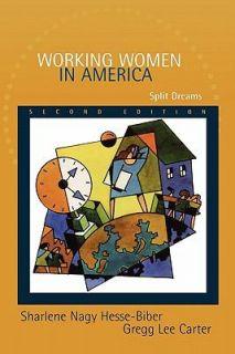 Working Women in America Split Dreams by Sharlene Nagy Hesse Biber and