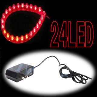 24 LED Aquarium Strip Night Light Fish Tank Waterproof