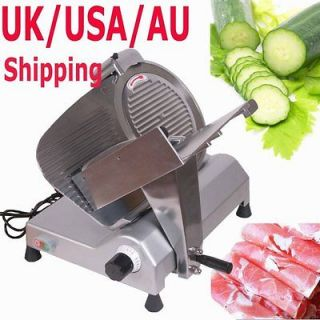 270W COMMERCIAL ELECTRIC MEAT SLICER 12 BLADE SEMI AUTOMATIC