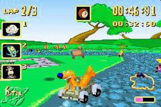 Nicktoons Racing Nintendo Game Boy Advance, 2002