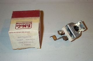 1950 1954 FORD METEOR MERCURY CAR TRUCK INSTRUMENT LIGHTS RHEOSTAT