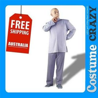 EVIL DELUXE ADULT MENS FANCY DRESS HALLOWEEN COSTUME AUSTIN POWERS