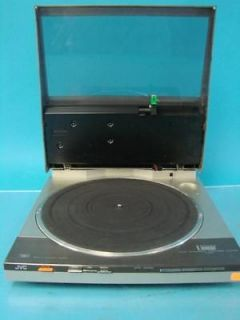 Vintage JVC Turntable Record Player Model L E22 Audio Technica Fully