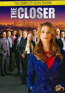 The Closer The Complete Sixth Season DVD, 2011, 3 Disc Set