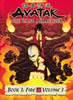 Avatar the Last Airbender   Book 3 Fire, Vol. 3 (2008)NEW*SEALED*Aang