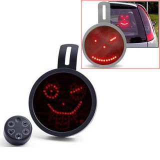 Automobile Face Lights Drivemocion LED Car Message Sign Remote Window