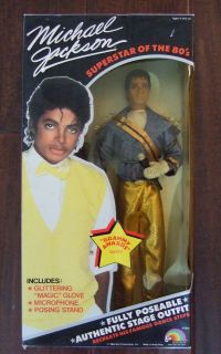 Michael Jackson Doll Grammy Awards outfit Superstar of the 80s New