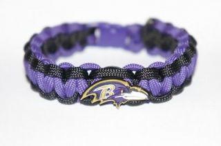 baltimore ravens paracord survival bracelet